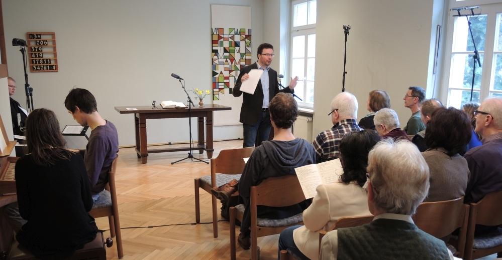 Rundfunkgottesdienst in der evangelisch-reformierten Gemeinde